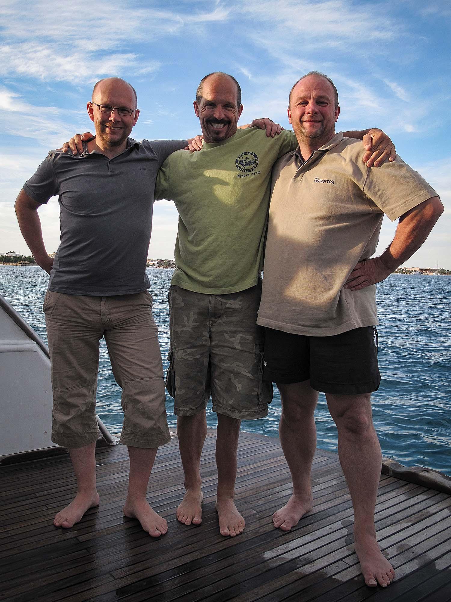 Nils, Erich Ritter und Stefan